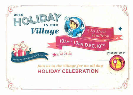 HolidayInTheVillage